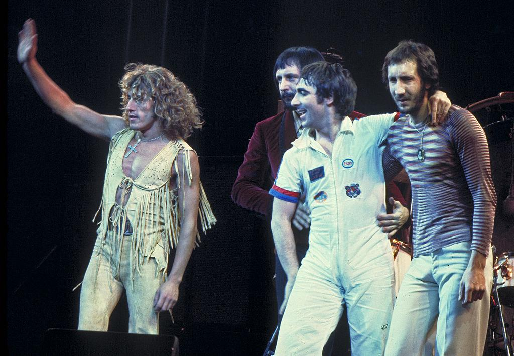 The Who performing in Chicago in 1975.