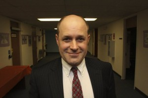 Dr. Christopher Lord resigned as principal of Andover High School in December. He held the position for two and a half years.
