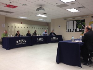 The AMSA Board of Trustees met on April 7 to select the school's next executive director.