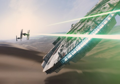 <em>Star Wars: The Force Awakens</em> hits all the right notes