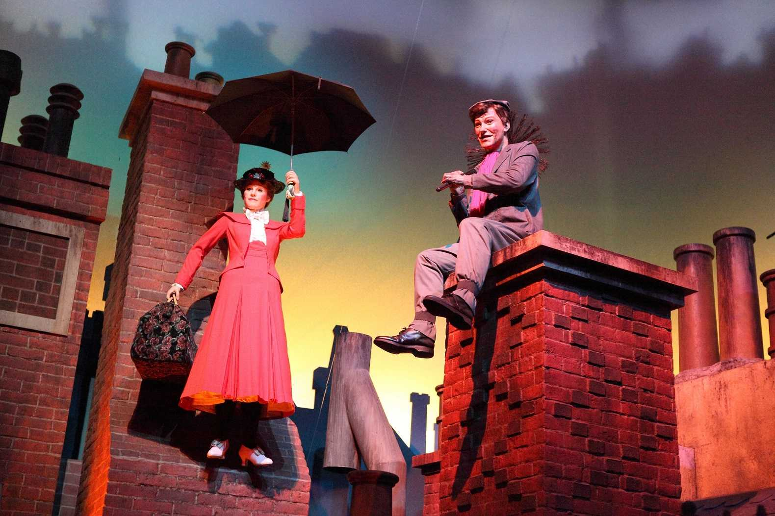 Wheelock Family Theatre in Boston captured the magic that is Mary Poppins.