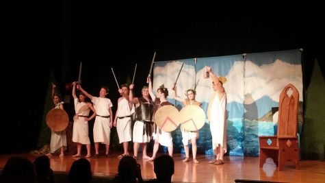 AMSA Drama Society entertains with classic adventure