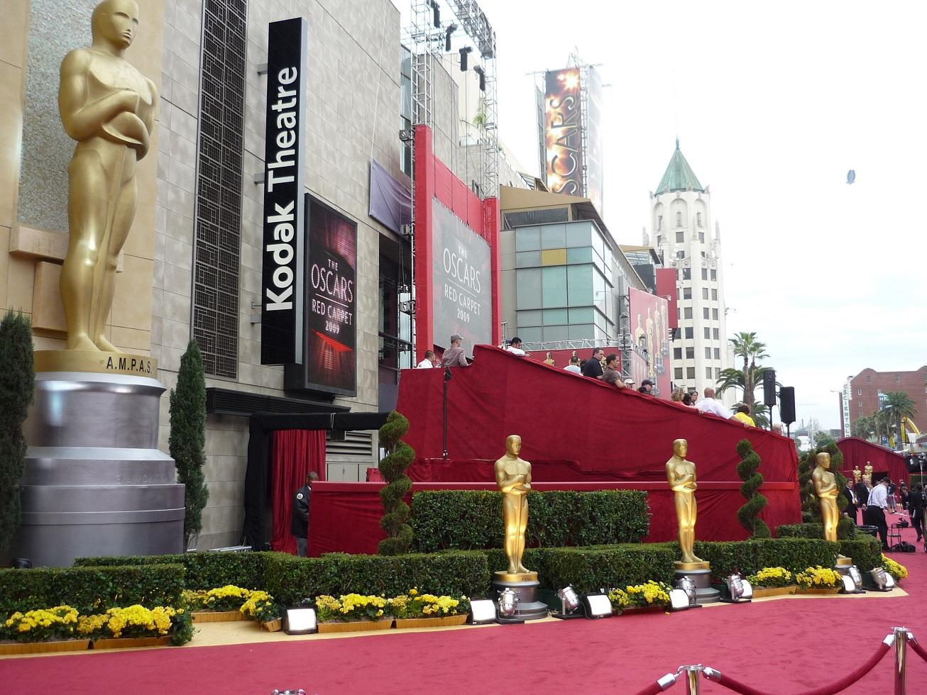 The Oscar ceremony will take place at Hollywood's Kodak Theatre on Feb. 26.