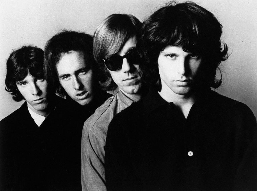 The+Doors+helped+to+pioneer+the+sound+of+psychedelic+rock.