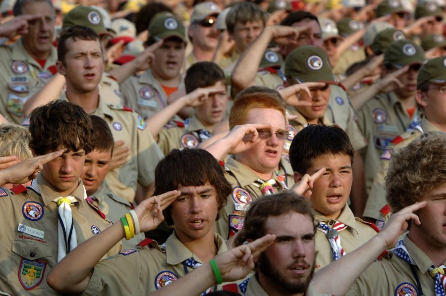 The+Boy+Scouts+of+America+announced+in+the+fall+that+girls+could+join+the+organization.