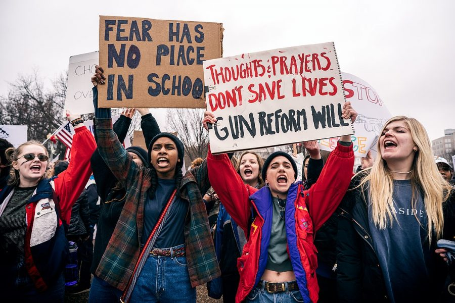 There+have+been+protests+around+the+country+in+reaction+to+the+school+shooting+in+Parkland%2C+Fla.