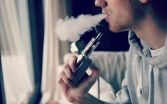 Vaping is likely dangerous and it certainly isn't cool