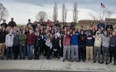 AMSA's Class of 2020 gathered outside of Ft. McHenry in Maryland.