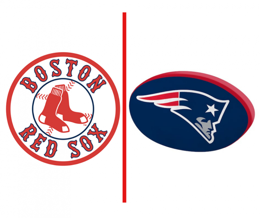 The+Red+Sox+and+Patriots+are+dominating+their+respective+sports.