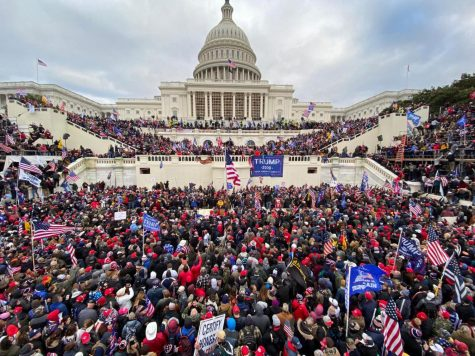 Rioters stormed the U.S. Capitol on Wednesday as members of Congress were ratifying Electoral College results.