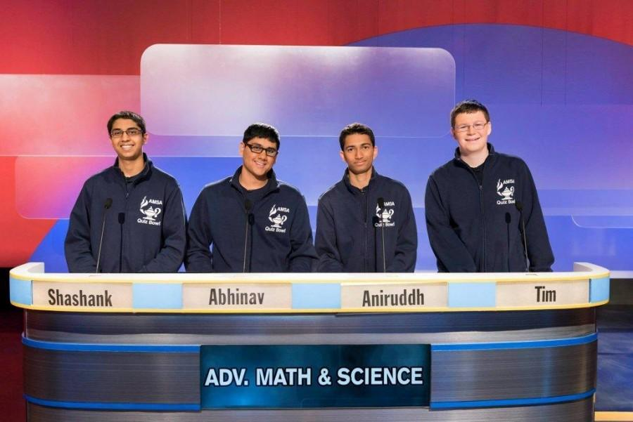 AMSA's Quiz Bowl team has competed in a tournament sponsored by WGBH for years, including here in 2015.