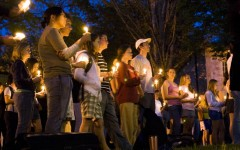 There were a number of candlelight vigils across the country after America's most lethal mass shooting, at Virginia Tech University in 2007.