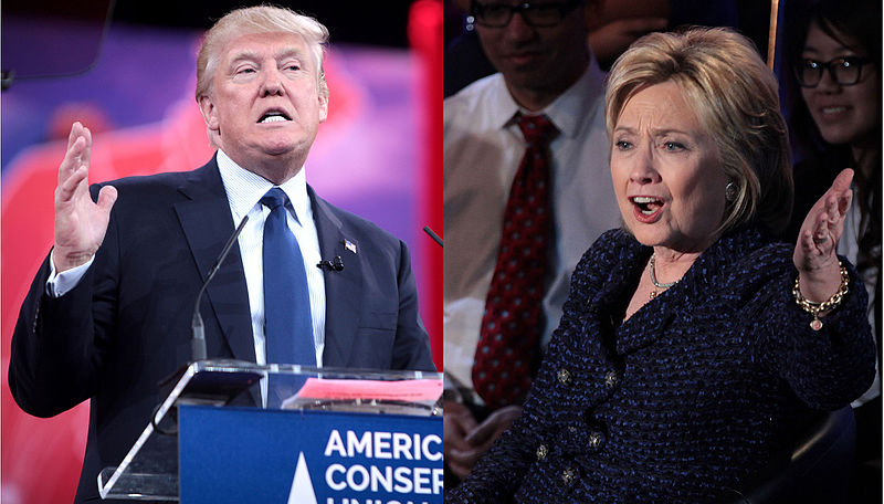 Donald+J.+Trump+and+Hillary+Clinton+debated+Monday+to+record+viewership.