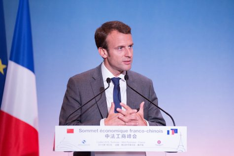 Macron takes charge of France's future