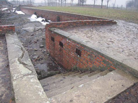 The concentration camp at Auschwitz-Birkenau in Poland is a horrifying reminder of the Holocaust.