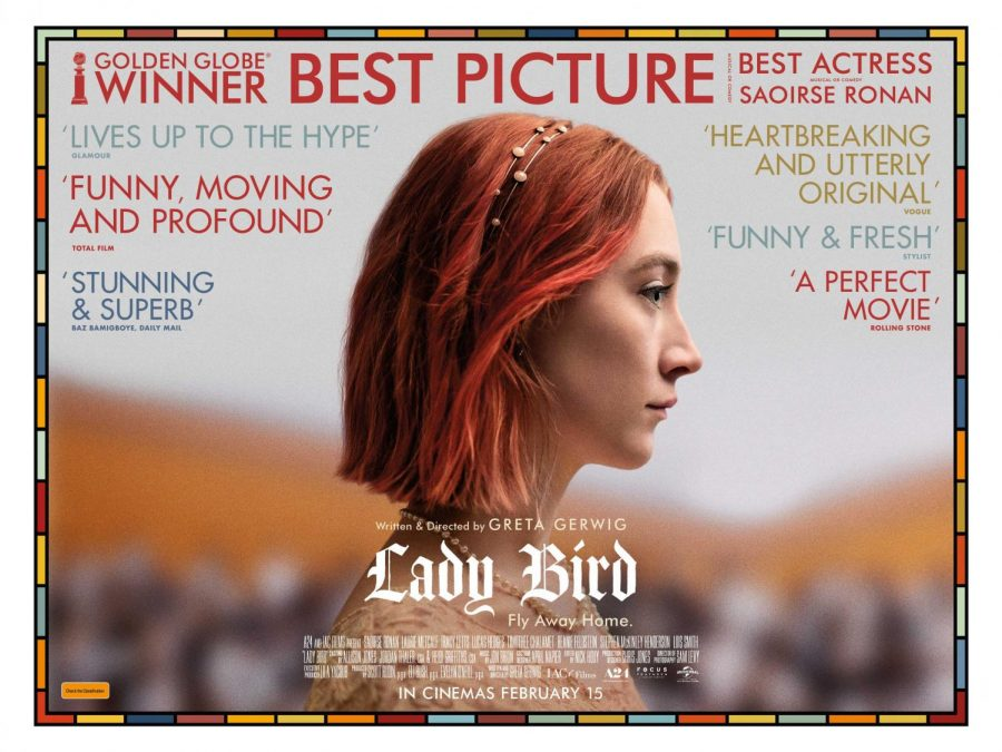 Greta+Gerwig%27s+Lady+Bird+is+nominated+for+five+Academy+Awards.