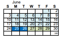 AMSA's school year has been extended all the way to June 26 because of days lost to weather.