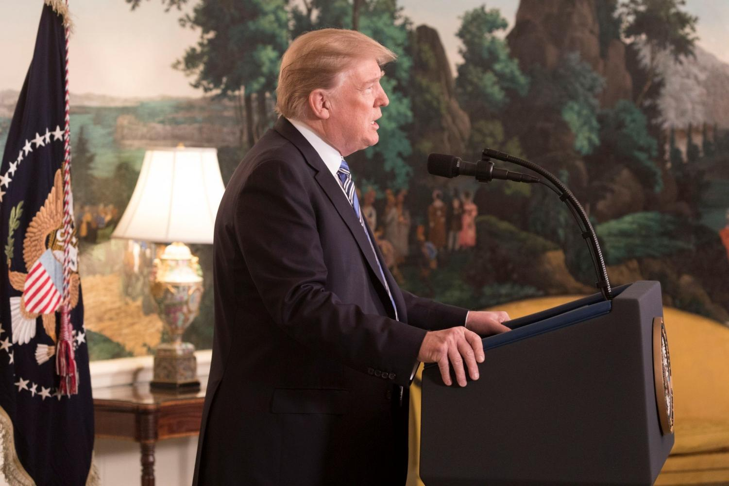 President Trump addressed the nation on Jan. 8 to discuss the government shutdown and a proposed border wall.