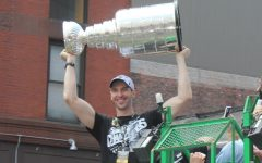 Star defenseman Zdeno Chara raised the Stanley Cup after the Bruins' last championship, in 2011.