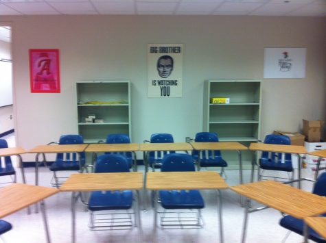 AMSA sits empty and seniors see their final high school year quietly fading away.
