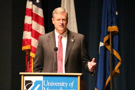 Gov. Charlie Baker has received consistent approval ratings of higher than 80 percent during the coronavirus pandemic.