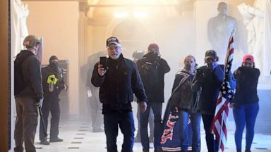 In some cases, rioters walked the halls of the Capitol with impunity.